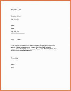 8+ example of notice letter to employer Notice Letter