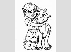 Frozen Coloring Pages Baby Sven | auto-kfz.info