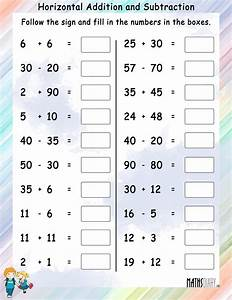 Subtraction – Grade 2 Math Worksheets