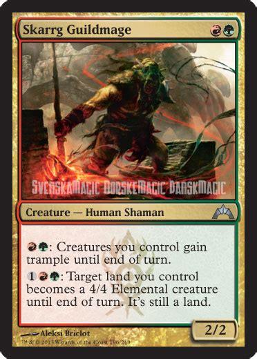 Mtg Worlds Decks single card discussion skarrg guildmage standard