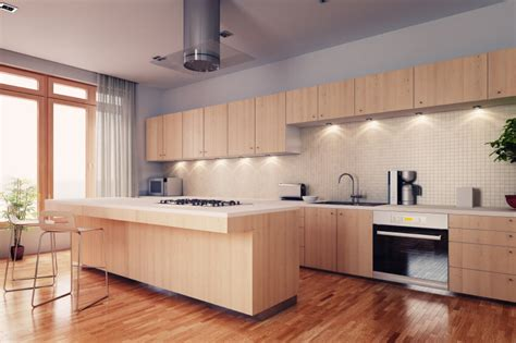 soft kitchen flooring 52 enticing kitchens with light and honey wood floors 2396