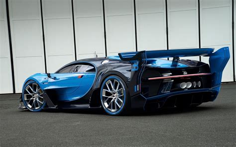 bugatti vision gran turismo car blue cars vehicle side