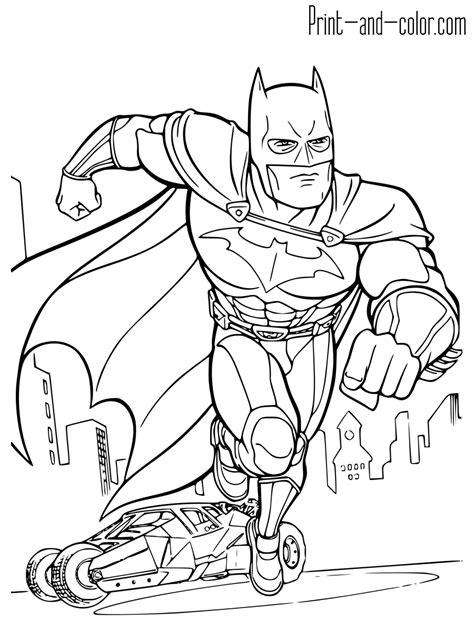 batman coloring pages  print  coloring sheets