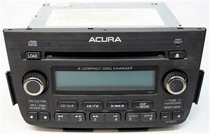 2005-2006 Acura Mdx Factory 6 Disc Changer Xm Ready Cd Player Radio 39100s3va350