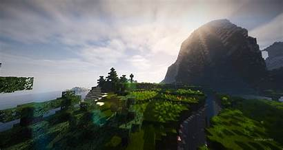 Wallpapers Minecraft Shaders Cinematic Awesome Yt Backgrounds