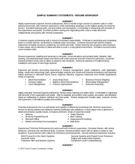 executive summary resume 8 sample executive resumes sample templates 21646 | Resume Executive Summary1