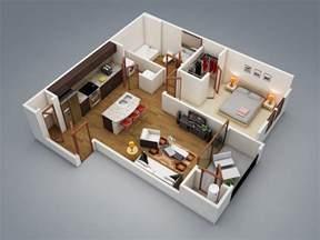 1 bedroom floor plans 1 bedroom apartment house plans
