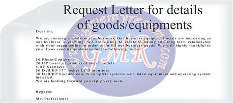 sle business letters for prices complaint quotation