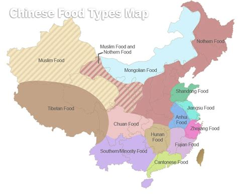cuisine by region regional cuisines of china