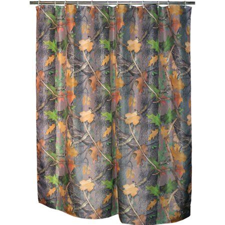 camo curtains walmart rivers edge products realtree camo shower curtain