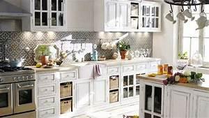 Cuisine Maison Du Monde : cuisine charme blanche ~ Teatrodelosmanantiales.com Idées de Décoration