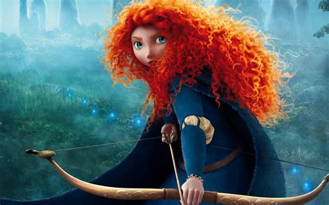 Animated Princess Wallpapers - brave princess merida archer hd wallpaper wallpapers