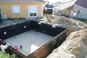Piscine En Kit Enterrée : piscine kit facile montage kit piscine solidpool ~ Melissatoandfro.com Idées de Décoration