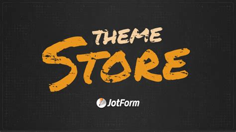 Store Theme Form Themes Made Easy Themes For Forms Jotform