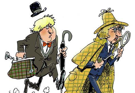 cartoon  uks brexit strategy euractivcom