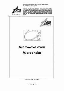 Team Mw 58 Microwave Oven Download Manual For Free Now