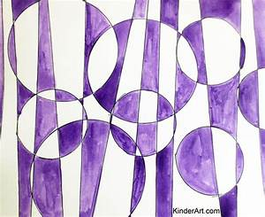 Pattern Drawing and Painting Art Lesson Plan for Kids