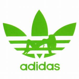 Green Adidas Symbol