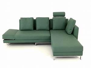 Couch Mit Großer Liegefläche : br hl four two ecksofa mit doppelbett funktion im leder graugr n br hl lagerware br hl ~ Bigdaddyawards.com Haus und Dekorationen