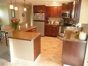 tri level home interior split level kitchen bananza With split level kitchen design ideas