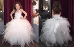 robe de mariage fille robe de mariée enfant laurine masset mode filles par laurine masset
