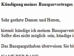 Bewertungszahl Bausparvertrag Lbs : bausparvertrag k ndigen vorlage download chip ~ Frokenaadalensverden.com Haus und Dekorationen