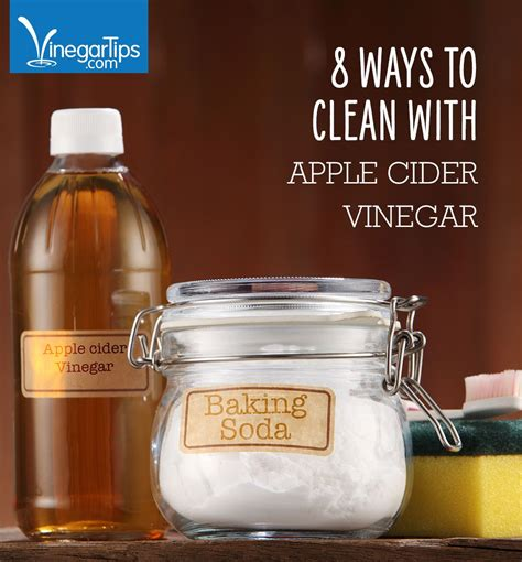 For instance, if you have an 8 cup. 8 Ways to Clean With Apple Cider Vinegar (With images ...