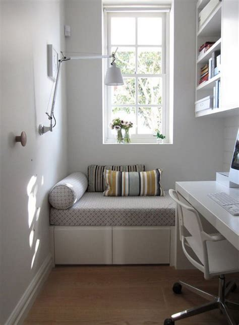 modern home office  small space ideas homemydesign
