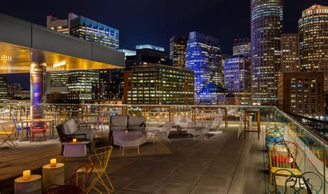 Marriott Gasl Rooftop Bar by The Envoy Hotel Autograph Collection By Marriott One