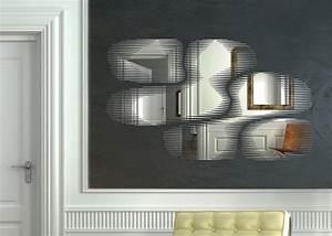Miroir Grande Taille : miroir snap du c l bre designer patrick norguet ~ Farleysfitness.com Idées de Décoration