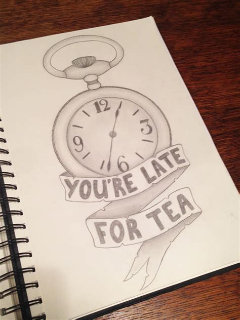 time drawings  behance