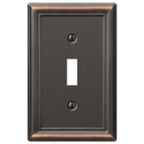 chelsea anitque bronze metal switchplate wall plate covers