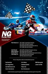 19 racing flyers psd ai indesign word eps vector