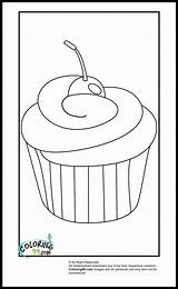 Coloring Pages Cupcake Cupcakes Easy Colouring Ice Cream Food Sheets Fun Books Patterns Printable Ak0 Printables Icolor sketch template