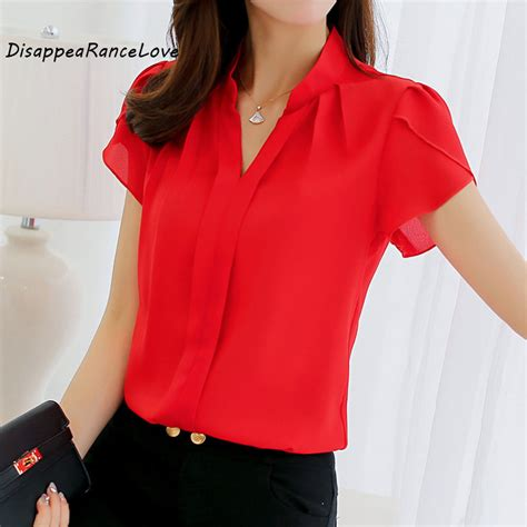 plus size formal tops blouses drl brand 2018 shirt chiffon blusas femininas tops