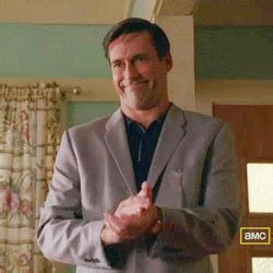 Slow Clap Meme - mad men slow clap gif find share on giphy