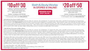 Bath And Body Work Coupon Gallery