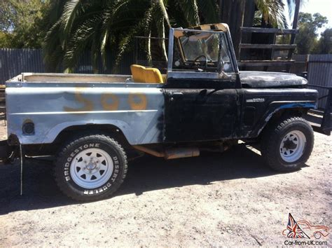 Datsun Patrol For Sale by 1977 Datsun Nissan Patrol 4wd Project Restore
