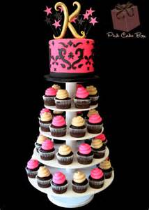two tier cake stand specialty cupcakes pair with your cake pink cake box