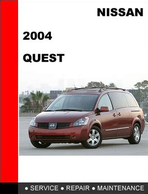 service repair manual free download 2004 nissan quest seat position control nissan quest 2004 factory workshop service repair manual download