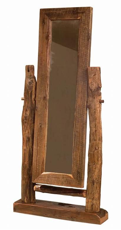 Rustic Wood Furniture Mirror Barn Floor Reclaimed