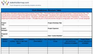 Work Breakdown Structure (WBS)   Excel Template FREE