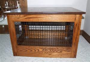 Wood Dog Crates Furniture