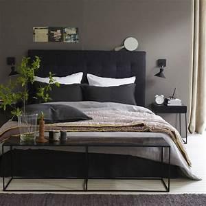 Bout De Lit Blanc : noir gris blanc brun chambre pinterest nature tables et combinaisons de couleurs ~ Teatrodelosmanantiales.com Idées de Décoration