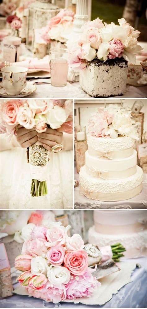 wedding shabby chic style blush wedding 23 impossibly romantic ideas