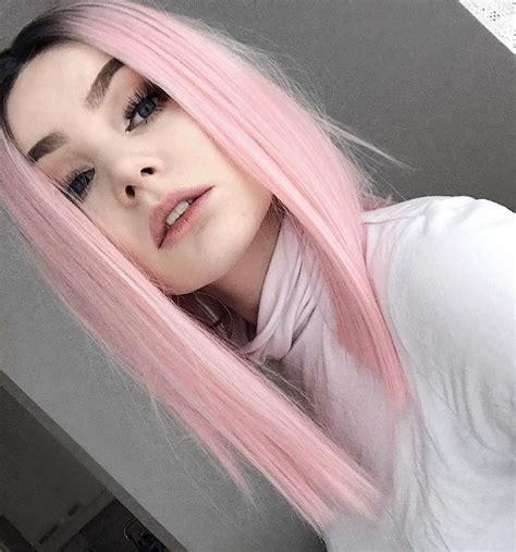 haare mit rosa 1001 ideen f 252 r rosa haare die besten bilder aus dem