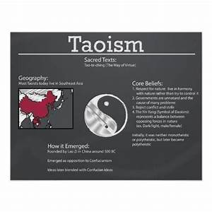 Taoism was one of the biggest belief systems in Ancient ...