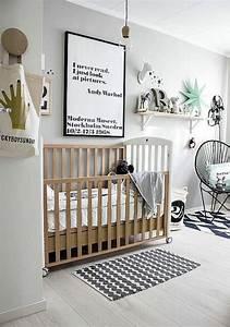 Deco chambre enfant 15 idees deco a copier vues sur for Modern unisex nursery ideas