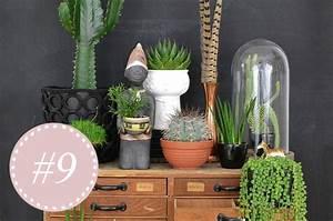 Wohnen In Grün : wohnen in gr n pflanzen und dekotipps von den urban jungle bloggern the ~ Markanthonyermac.com Haus und Dekorationen