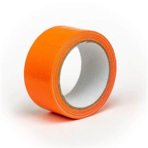 gaffer tape orange grey adhesive self low